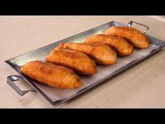 Πιροσκί γεμιστά με κιμά - YouTube Sausage Roll Pastry, Sausage Rolls, Party Buffet, Pastries, French Toast, Greek, Pie, Breakfast, Youtube