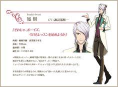 鳳 樹 Itsuki Otori. High School Star Musical. Voiced by Junichi Suwabe