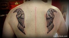 Image result for hugin and munin tattoo