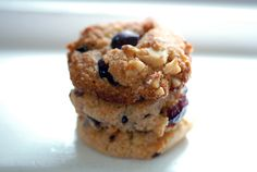 Grain-Free Cranberry Walnut Chocolate Chip cookies