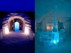 10 Most Amazing Ice Hotels!