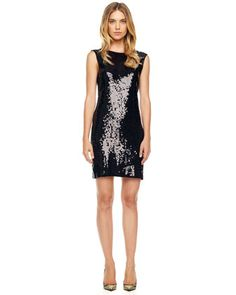 Sequined Jersey Dress by MICHAEL Michael Kors at Neiman Marcus.