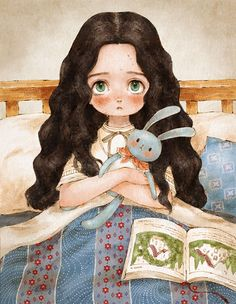I'm an illustrator Aeppol who is painting little happiness in our daily life and small special things that we easily pass by. This is the diary of a forest girl. You can find my previous illustrations of simple everyday momentshere. More info: Instagram In remote green forest, I came to visit a small house I …