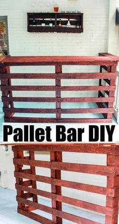 Pallet Bar DIY | Happily Hughes