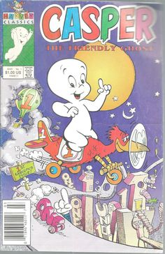 Casper Friendly Ghost No 1 Harvey Classics Comics Mar 1991 First Issue