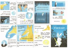Voici un petit album très mignon qui traite du sujet essentielde l'exclusion des lapins en peluche par les vrais lapins. (Élevons-nous contre cette injustice!) J'ai voulu l'utili…