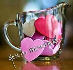 Good morning sweetheart I hope you had a good night I missed you I still love you just so you know... LUSM...❤️❤️..