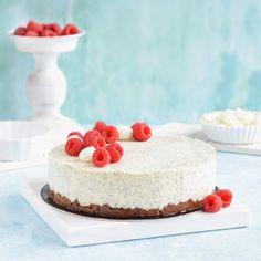 Citromos-mákos namelaka torta cukormentesen – Sweet & Crazy Stevia, Mousse, Cheesecake, Recipes, Food, Cheesecakes, Essen, Meals, Eten