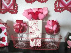 Valentines-Day-Craft-Ideas  tons of these hearts at the dollar store