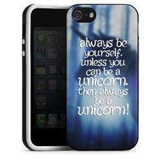 Silikon Case Always be yourself. Unless you can be a unicorn. Then always be a unicorn: 19,95€