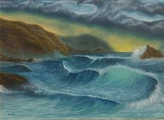 ARTFINDER: Stormy sea by Gianluca Cremonesi - more seascapes!