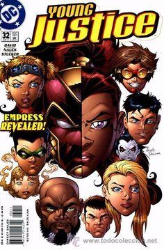 YOUNG JUSTICE #32, DC COMICS, 2.001, USA