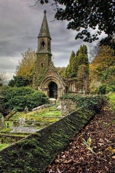 ARCHITECTURE – Ancient, Overton Church, Wales photo via bridget. Tolkien is said to have used Welch influence for his books. Places Around The World, Oh The Places You'll Go, Places To Travel, Places To Visit, Beautiful Buildings, Beautiful Places, Beautiful Ruins, Old Churches, Abandoned Churches