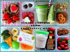 School lunches from Foodtastic Mom: * Valentine's Day * St. Patrick's Day * Easter * Christmas