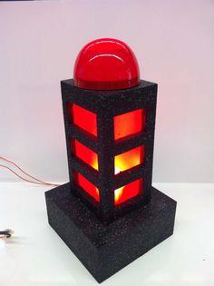 Red Box Light Design