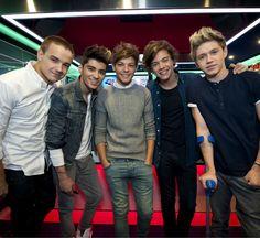 One Direction:Liam Payne, Zayn Malik, Louis Tomlinson, Harry Styles, and Niall Horan