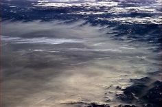 """Chris Hadfield 10 May """"A springtime haze laps on the evening shore of the Alps. Space Photos, Space Images, Chris Hadfield, Earth Photos, What A Beautiful World, Earth From Space, Natural World, Planet Earth, Art Music"""