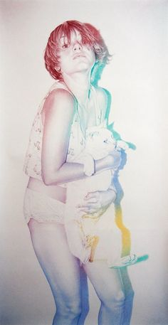 Colored pencil drawings by Oriol Angrill Jordà