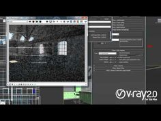 V-Ray 2.0 for 3ds Max - Daylight set up in an interior scene - YouTube