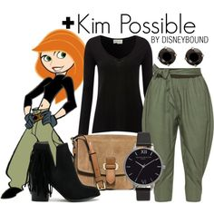 Disney Bound - Kim Possible