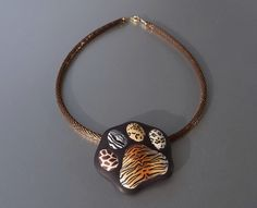 Pendant Tiger's paw   Flickr - Photo Sharing!