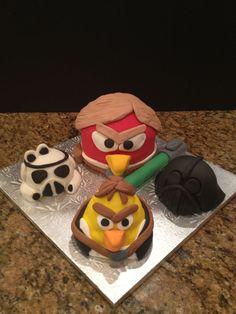 Angry Birds Star Wars Squawk cakepins.com