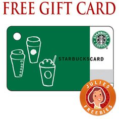 Free $3 Starbucks Card