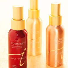Jane Iredale Hydration Sprays. My skin's getting kinda dry with winter coming up...Pommist smells sooo goood!!