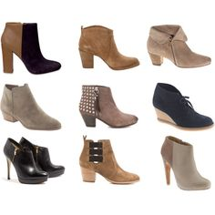 booties. Want em all.