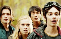 Reactions to Octavia stripping down to go swimming. The 100  Dude Jasper, ur face!!!  Finn ur just like no..just no