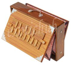 "SHRUTI BOX~TEAK WOOD~BIG SIZE (15"" X 10"" X 3"")~440 Hz~YOGA~MANTRA~BHAJAN~KIRTAN~ #KaaynaMusicals"