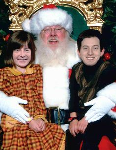 Kurt Busch Kyle Busch Sitting on Santa's Lap, funny nascar pictures nascar christmas nascar holiday funny nascar photos pictures of sprint cup drivers