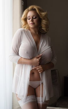 Plus size sexy beauty