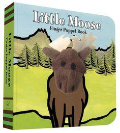 Little Moose: Finger Puppet Book