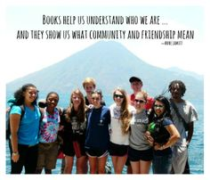 Books show us community and friendship MLWGS senior seminar trip to help start a library in Guatemala