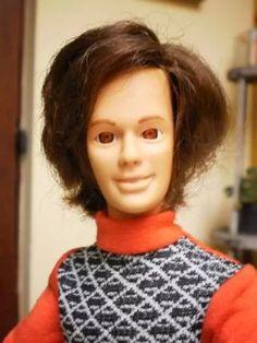 raro boneco beto namorado susi brinquedo antigo estrela 70's