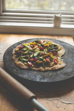 Flatbread Pizza with Asparagus & Baby Potatoes — Produce On Parade