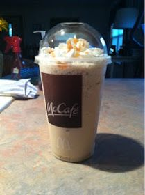 This'n'That: Perfect Homemade McDonalds Carmel Frappe Recipe!!!!