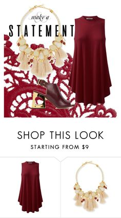 """""""make a statement"""" by suddenlyham ❤ liked on Polyvore featuring Lele Sadoughi, Marni and statementnecklaces"""