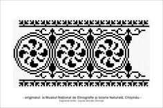 Risultati immagini per motive populare din transilvania Folk Embroidery, Cross Stitch Embroidery, Embroidery Patterns, Knitting Patterns, Cross Stitch Borders, Cross Stitch Designs, Cross Stitch Patterns, Loom Beading, Beading Patterns