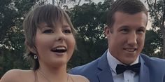 Former Blues halfback Trent Hodkinson, in the middle of a trying season at Newcastle, is the toast of the rugby league fraternity after escorting a terminally ill teenager to her high school formal.