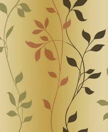 In this climbing leaf pattern from the Modern Living Collection, you have all of the Fall colors together. The pattern also has a hint of an ombre effect.