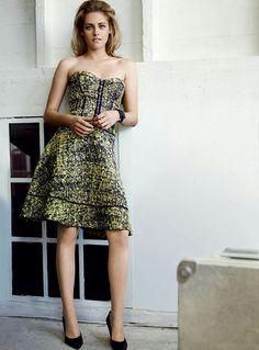 3bca339cc421 Vogue Magazine featured Kristen Stewart on its February 2011 cover.