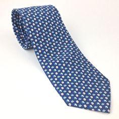 bab4d16c865e1 Vineyard Vines Marth 039 s Blue Baseballs and Helmets Men 039 s 100 Silk Necktie  Tie