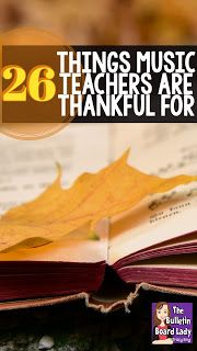 Things Music Teachers are Thankful for.hearing that song your students are singing in the bathroom music education victories a drawer full of chocolate. Be thankful music educator! You've got a great job. Teaching Kindergarten, Teaching Music, Preschool Music, Teaching Ideas, Music Teachers, Music Classroom, 2nd Grade Music, Music Education Activities, Middle School Music