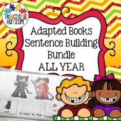 This growing bundle will be updated throughout the year to give you adapted books / sentence building books to use all year round. This will include seasonal activities as well as generous interest themes. If you have a particular theme in mind that you would like to see in this bundle, please contact me.Many of these books will come in different difficulty levels to differentiate between students abilities.