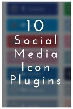 Looking to add social media icons to your WordPress blog? These plugins make it easy. Each one offers up their own style of social icon so you can choose the one that best compliments your blog's style. Easy, peasy. Upload, install, activate, and configure the settings for simple sharing. Gain Likes, Share Icon, Social Media Icons, Wordpress Plugins, Easy Peasy, Work Hard, Traveling By Yourself, Compliments, Tech Companies