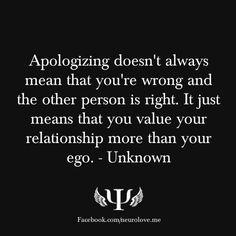 Apologizing   zenfrogyeah