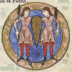 The Hunterian Psalter: Calendar. Zodiac Sign of Gemini. | by University of Glasgow Library