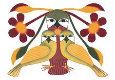 Kenojuak Ashevak: Birds of Cape Dorset Boxed Notecards